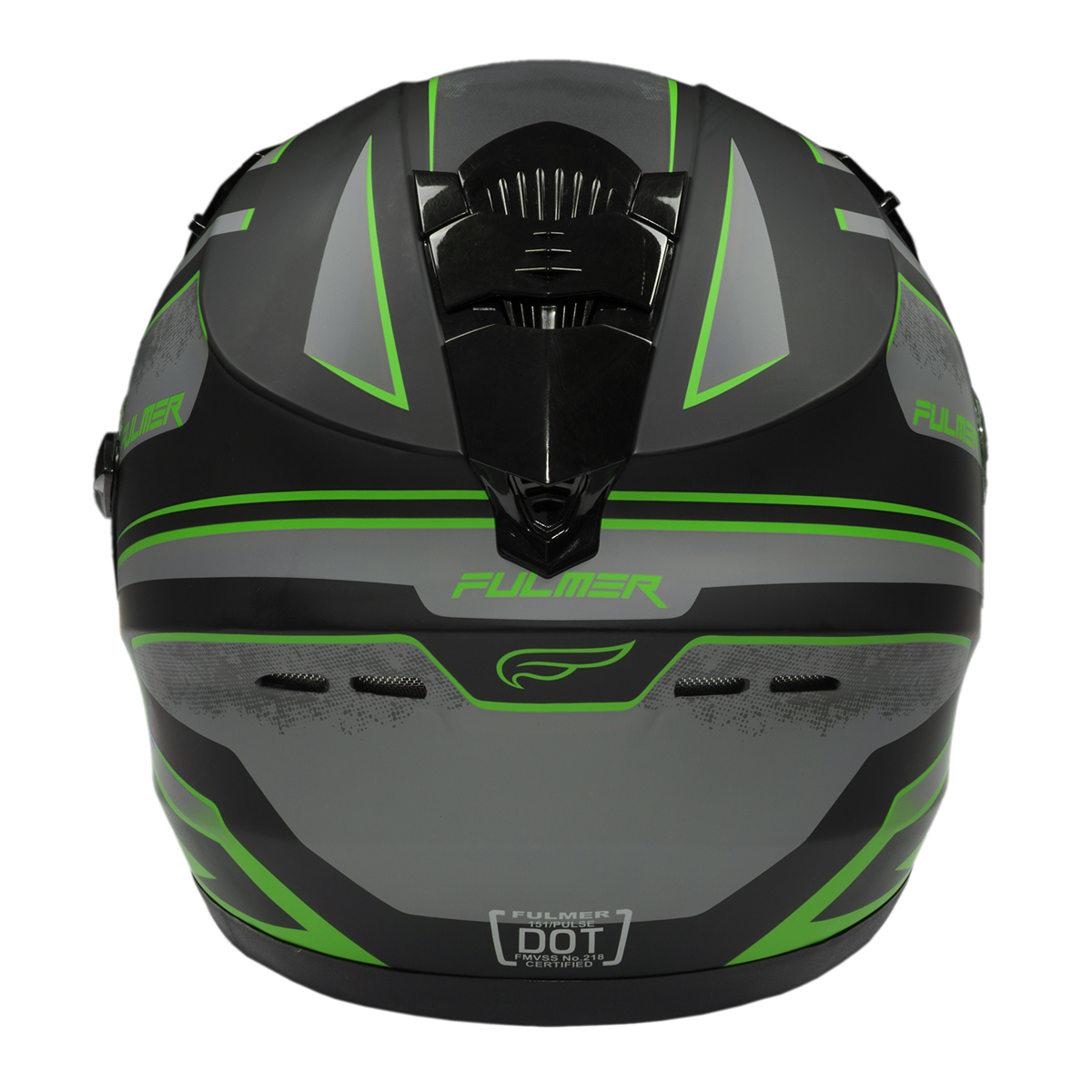 Fulmer-Adult-Full-Face-Motorcycle-Helmet-151-Pulse-DOT-Approved-Street-Bike thumbnail 14