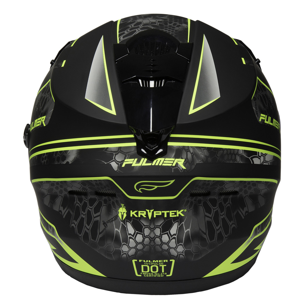 Fulmer-Adult-Full-Face-Motorcycle-Helmet-151-Pulse-DOT-Approved-Street-Bike thumbnail 19