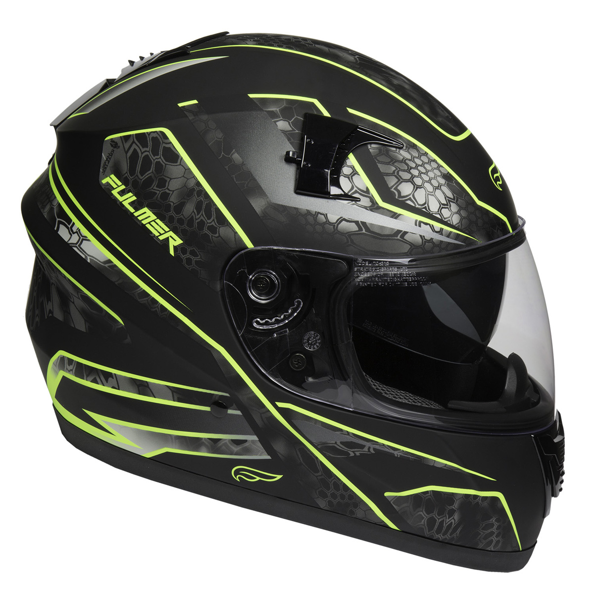Fulmer Adult Full Face Motorcycle Helmet 151 Pulse DOT Approved Street Bike