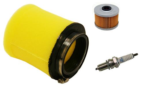 air filter oil filter ngk spark plug honda rancher 350. Black Bedroom Furniture Sets. Home Design Ideas