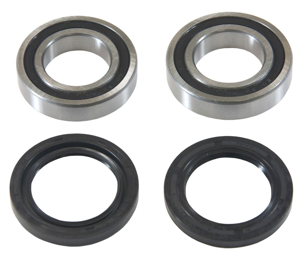 Rear wheel bearing seal kit suzuki king quad 300 quadrunner 250 see years