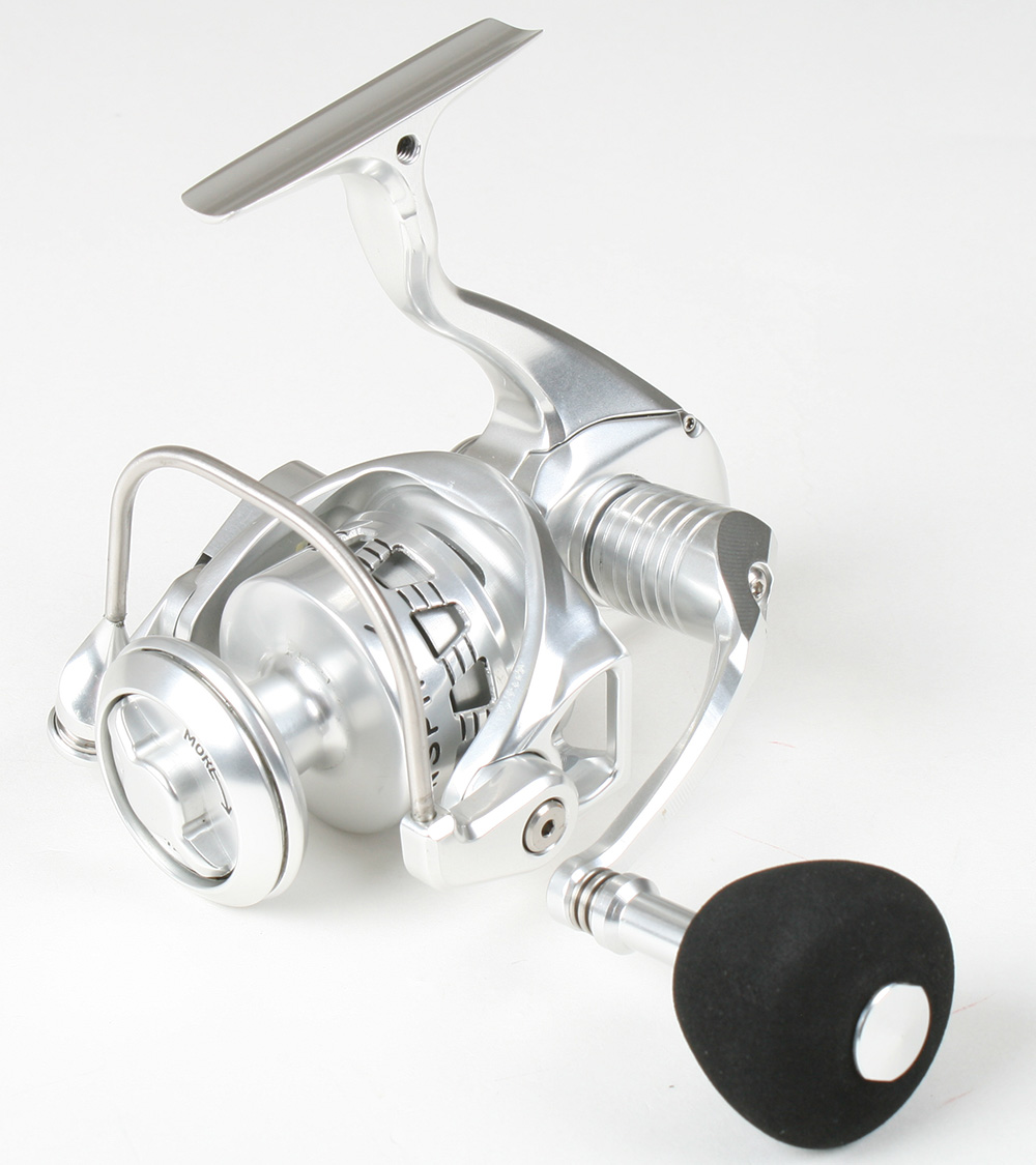 Accurate sr 6 twinspin 6 spinning reel color silver new for Mighty mite fishing pole
