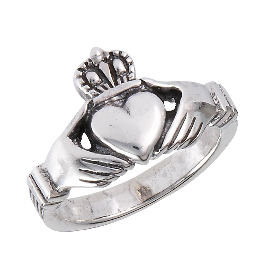 traditional men and women 39 s claddagh sterling silver. Black Bedroom Furniture Sets. Home Design Ideas