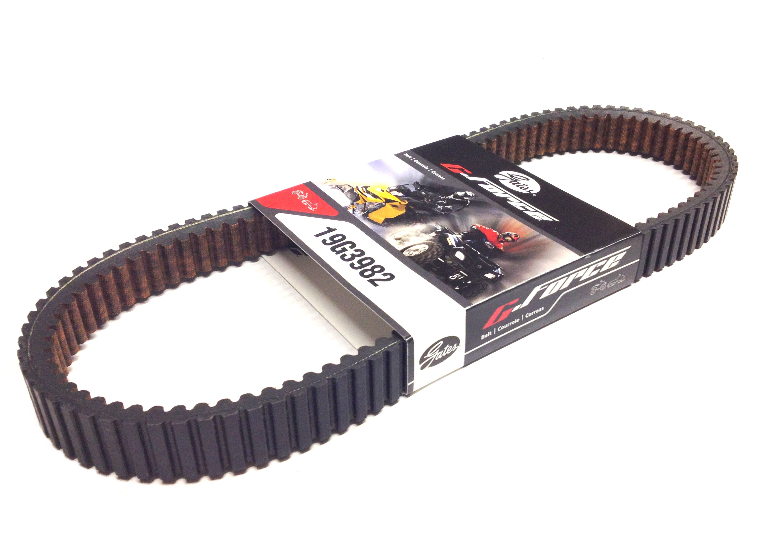 Gates Drive Belt For Polaris For Magnum Sportsman /& Worker W// EBS Part #19G4006E