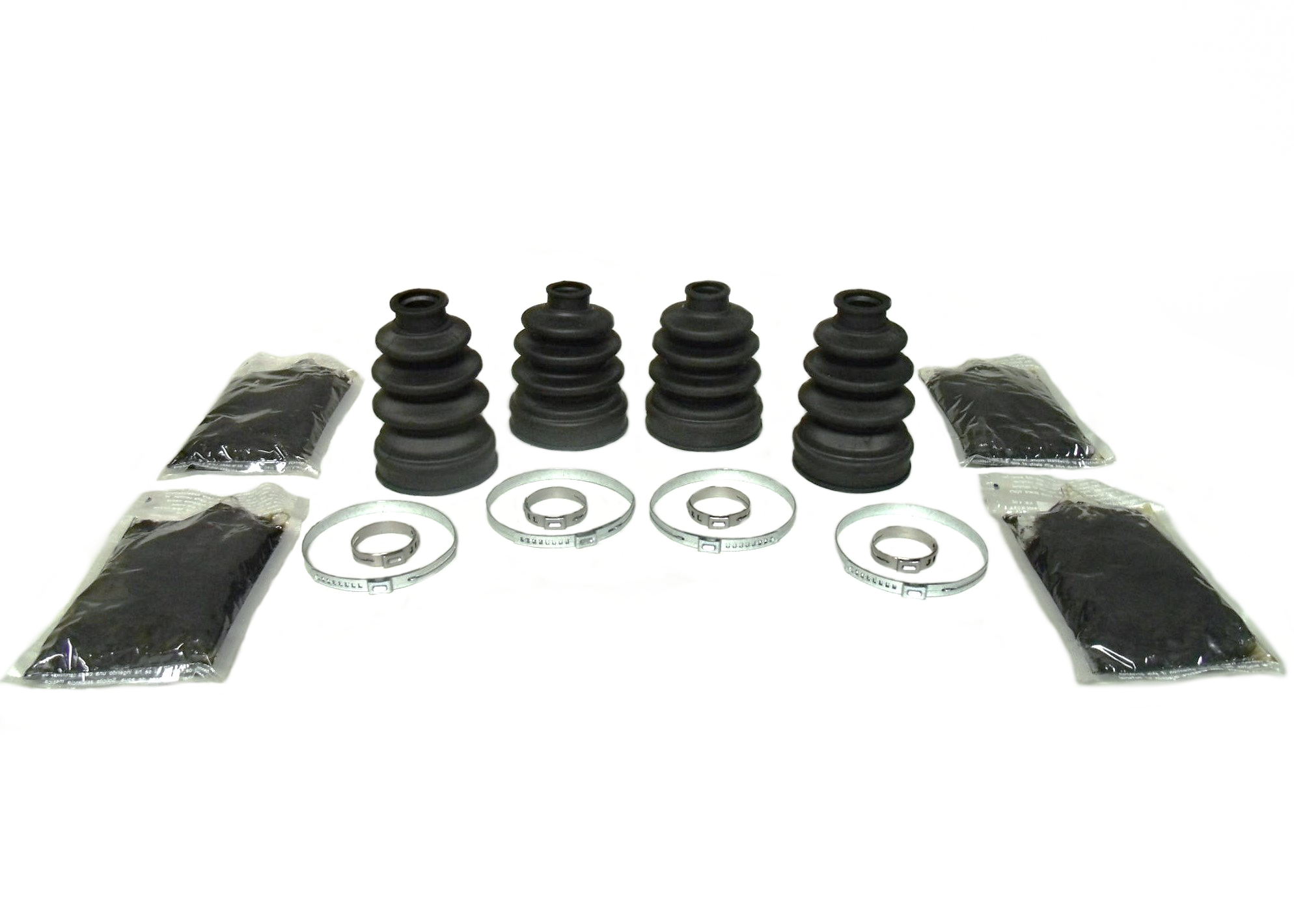 Set of Heavy Duty Front Axle CV Boot Kits 2004-2008 Kubota RTV 900 4x4 UTV
