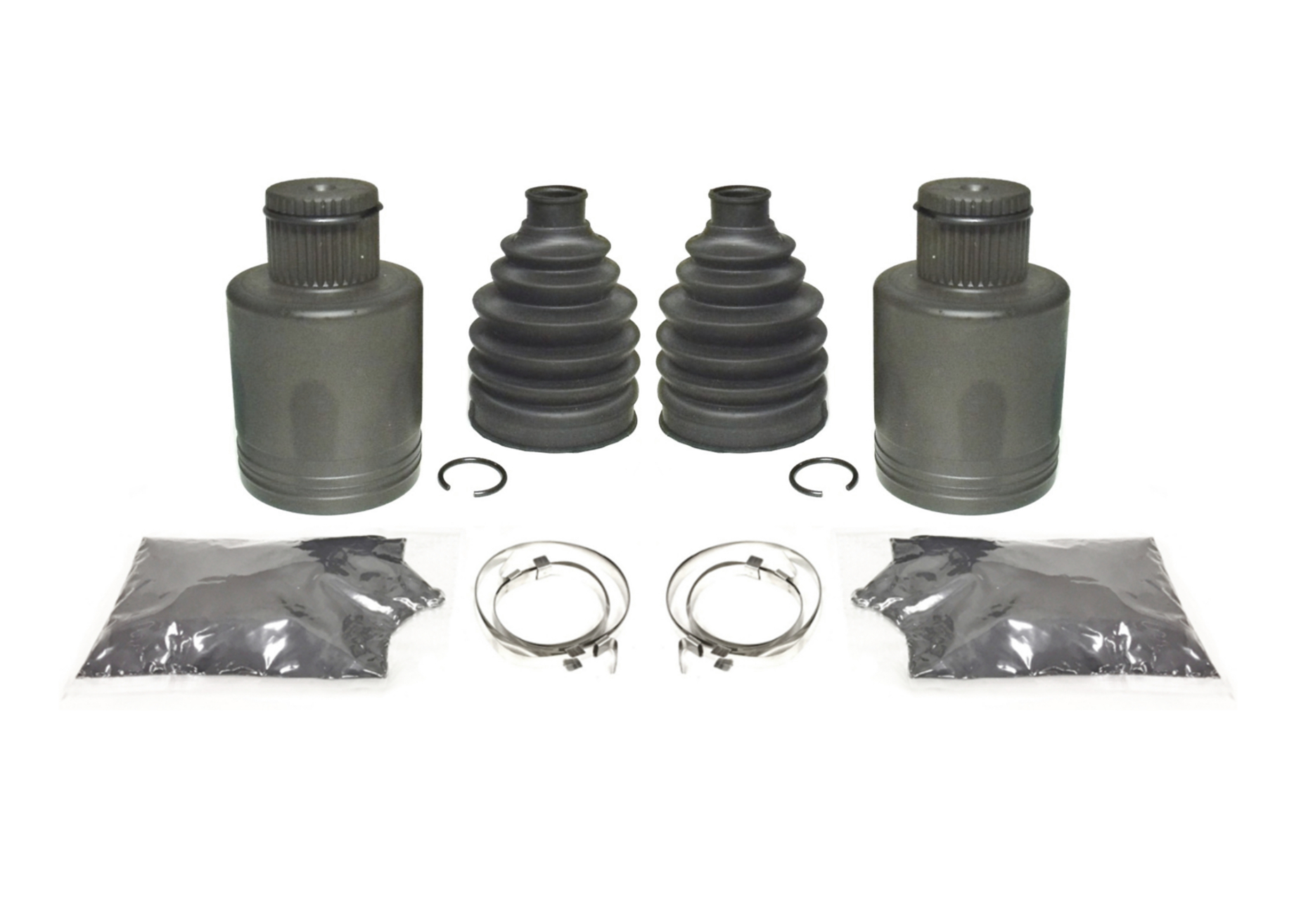 Pair of Rear Axle Inner CV Joint Kits for Polaris Sportsman 570 4x4 2014 ATV