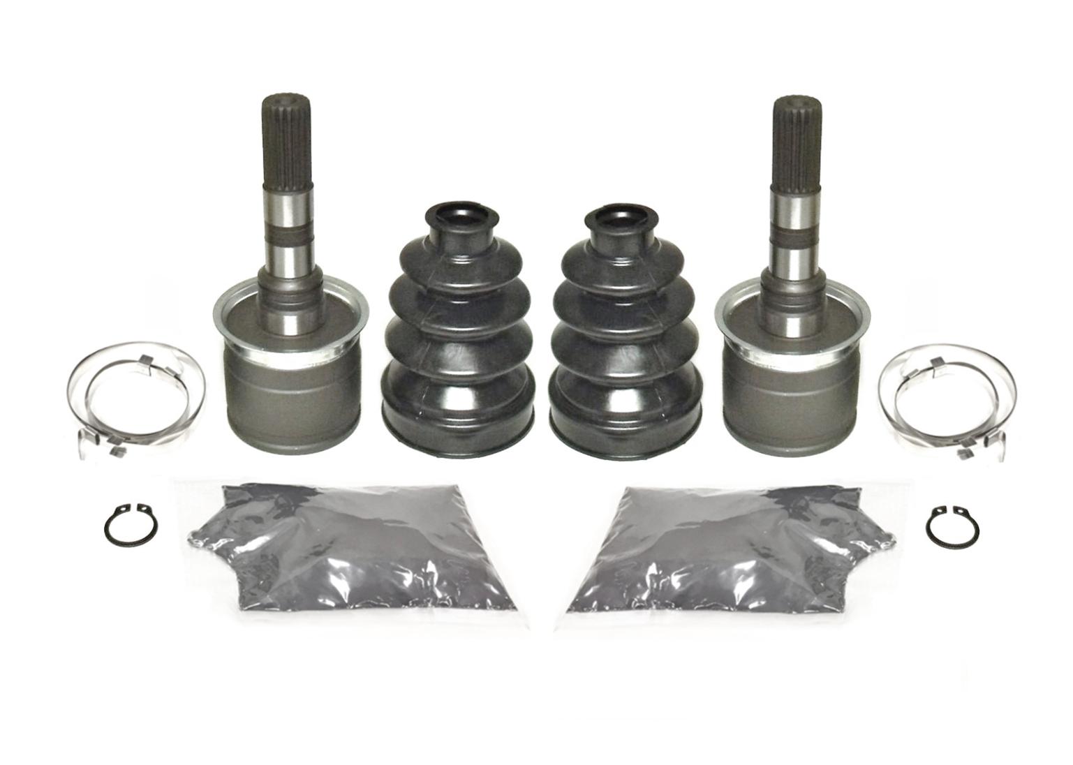 Pair of Front Wheel Bearing /& Seal Kits 2001-2008 Kawasaki Mule 3010 4x4