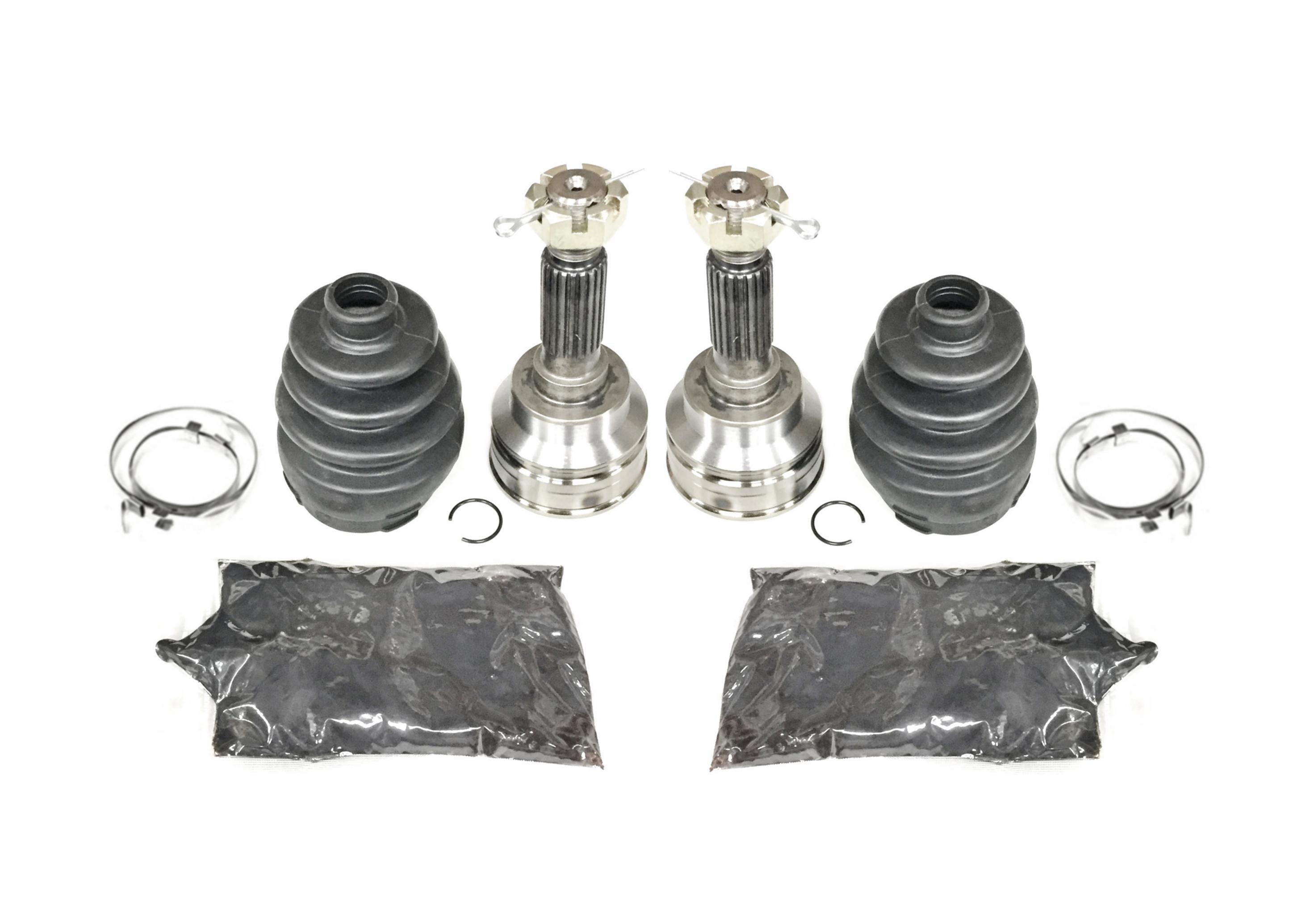 Pair of Rear Axle Inner CV Joint Kits 2007-2010 Yamaha Grizzly 450 4x4 ATV
