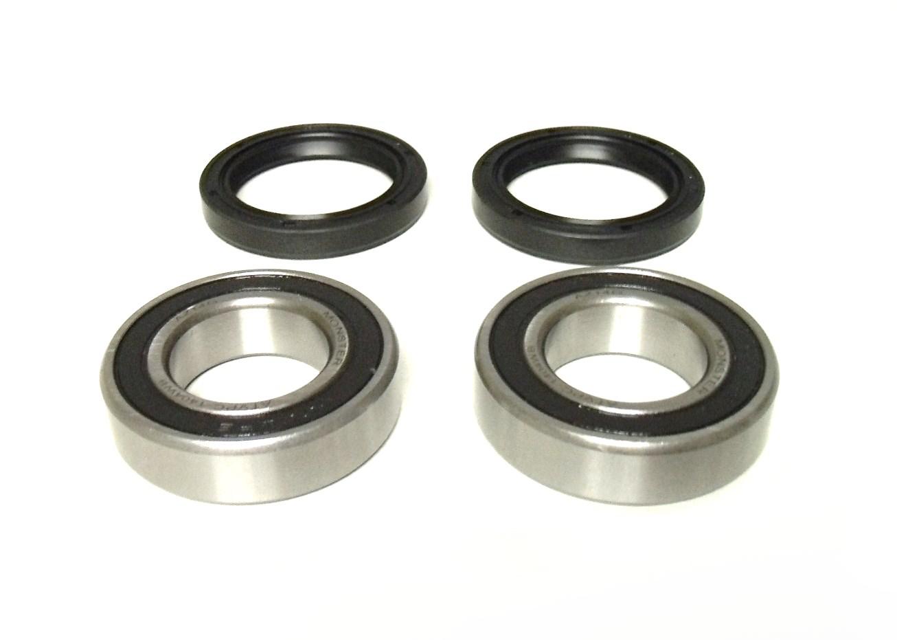 Front Wheel Bearing /& Seal Kit for Kawasaki Mule 2010 2020 2030 3010 2510 2500 2520 3000 4000 4010 UTV Replaces OE 92045-3707 92049-1025