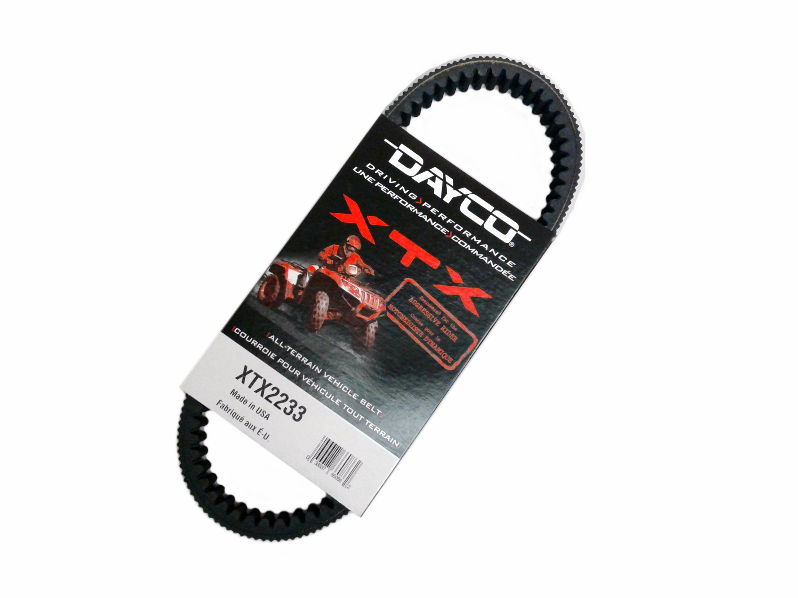 Dayco XTX Drive Belt Yamaha ATV UTV Replaces 3B4-17641-00-00 5B4-17641-00-00