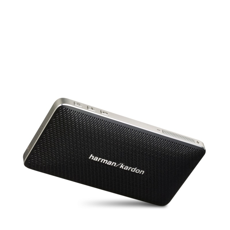 harman kardon esquire mini portable speaker and conferencing system. Black Bedroom Furniture Sets. Home Design Ideas