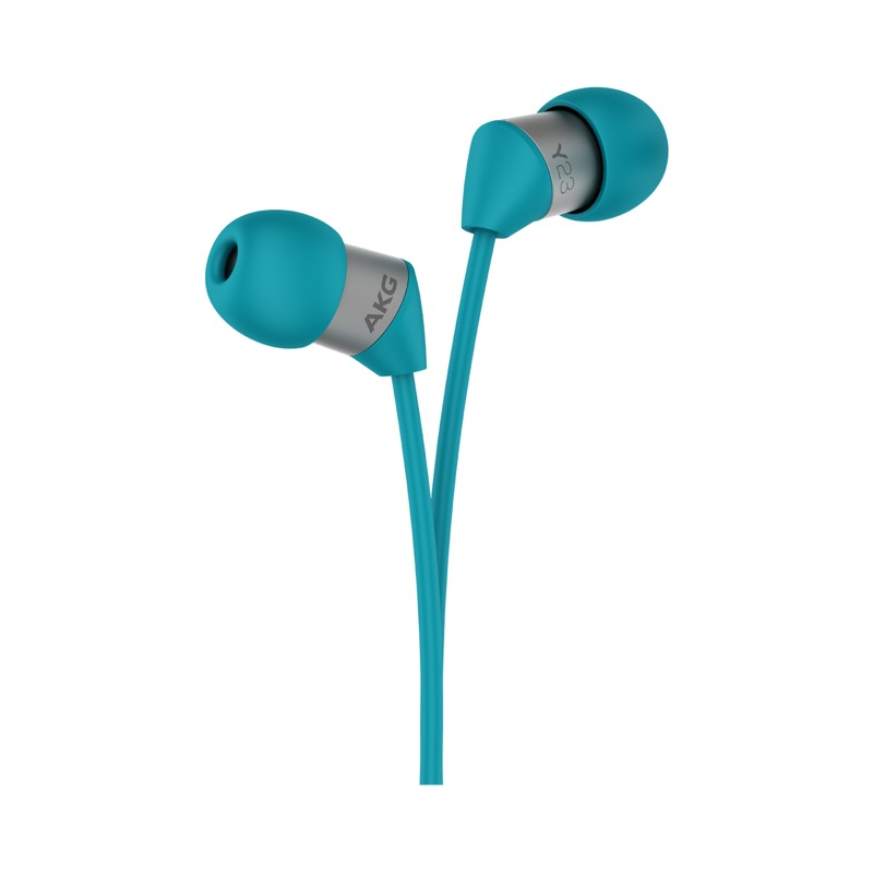 AKG Y23U In-Ear Earphones with Mic (Teal)