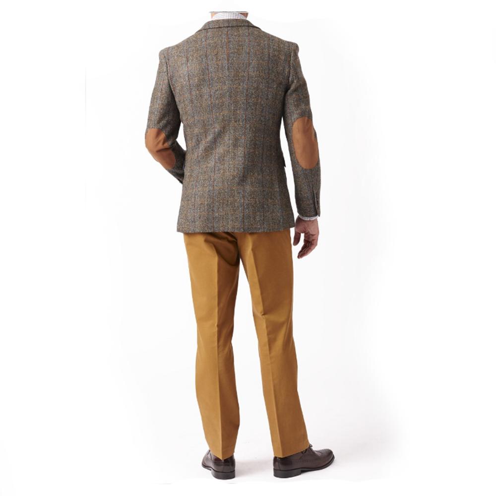New Wool Premium Mens Sumburgh Harris Tweed Jacket Coat Uk