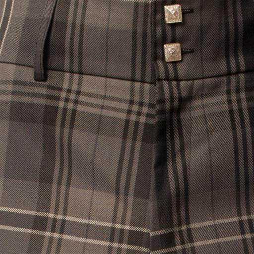 Homme pantalon TARTAN GRIS HAMILTON trews