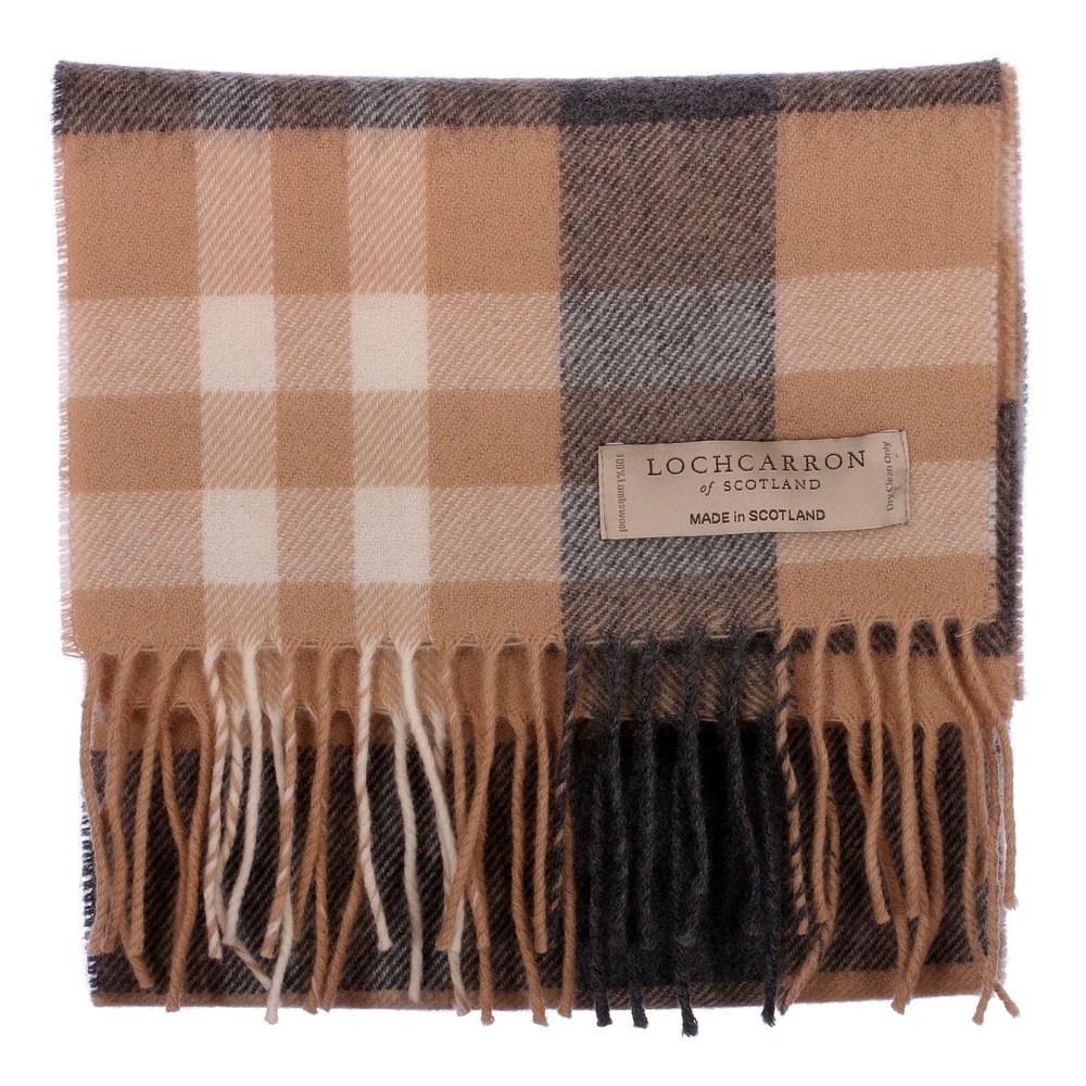 New Long Neck Tartan Scarf Scottish Lochcarron Wool Scarf in 20 + Tartans 3ed6c5bb52d