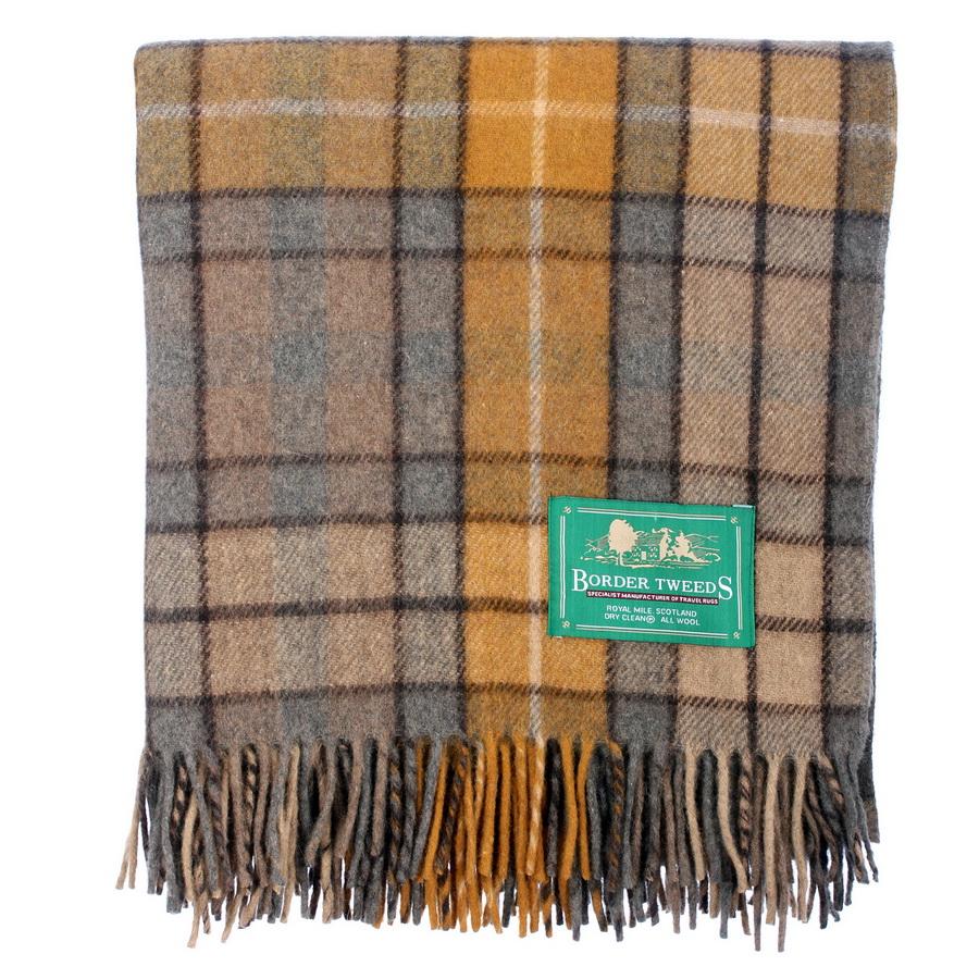 New-BNWT-Scottish-Throw-Large-Wool-Tartan-Rug-Range-of-Tartans-Colours thumbnail 16