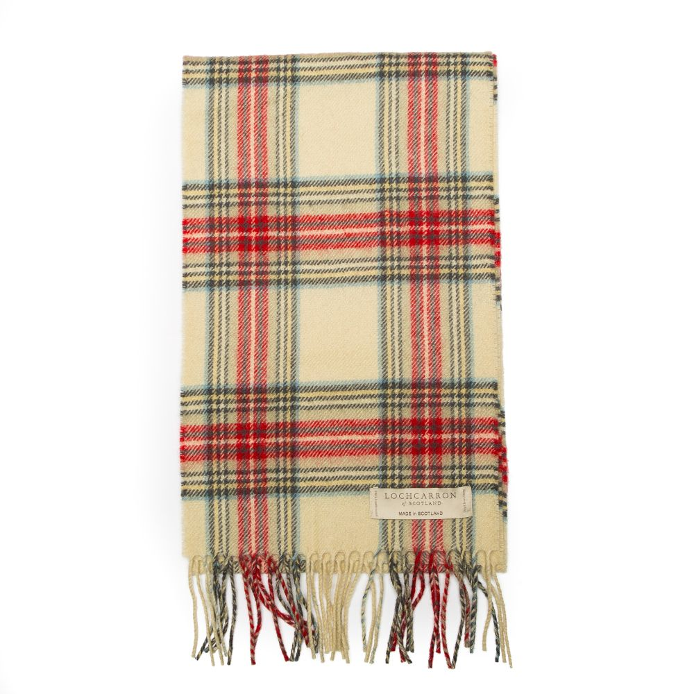 100/% Lambswool Duncan Ancient Tartan Clan Scarf /& Gift Wrap Made in Scotland by Lochcarron