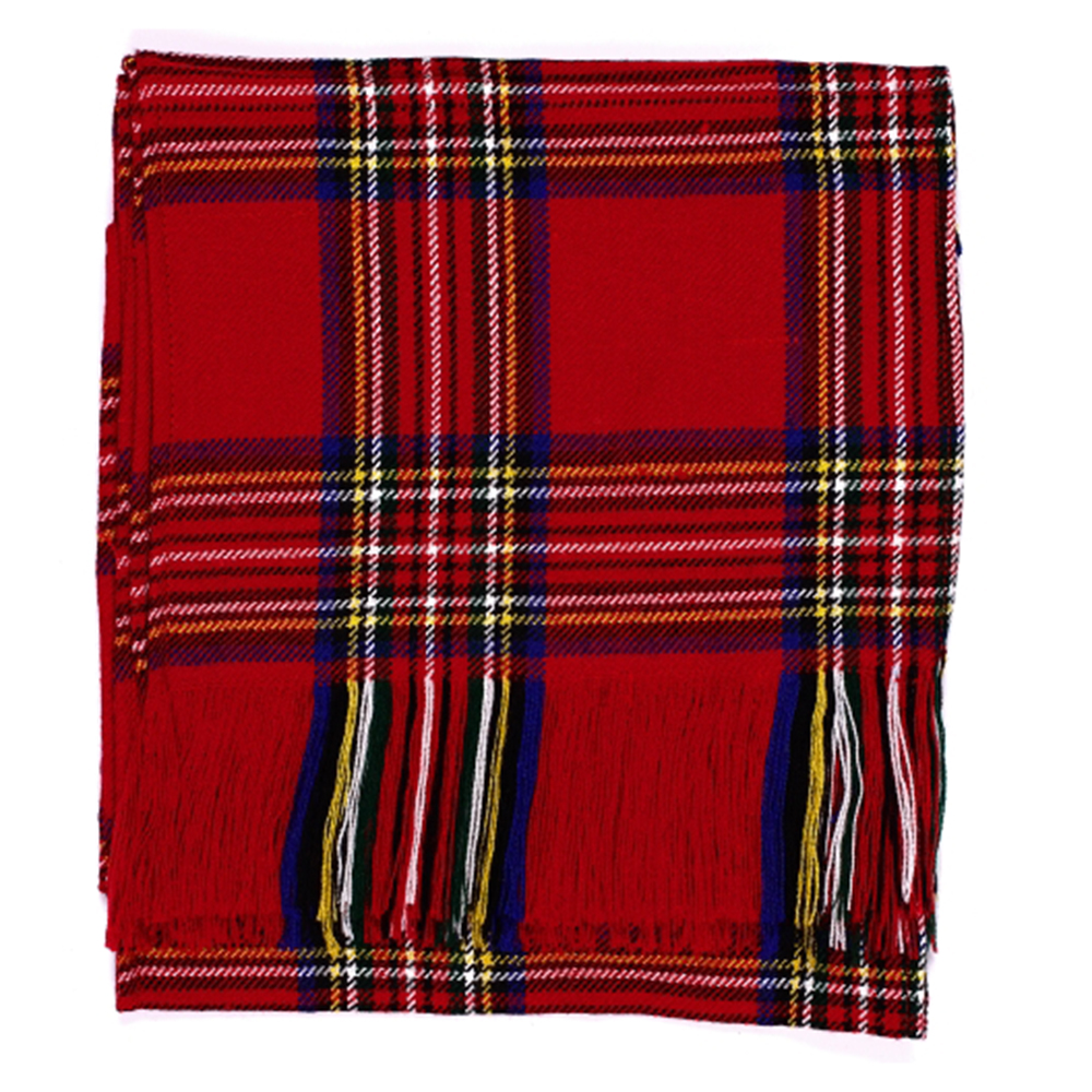 aabc34017db Nouvelles dames Stewart Royal Tartan écossais Budget écharpe 100 % laine  acrylique pour Kilt