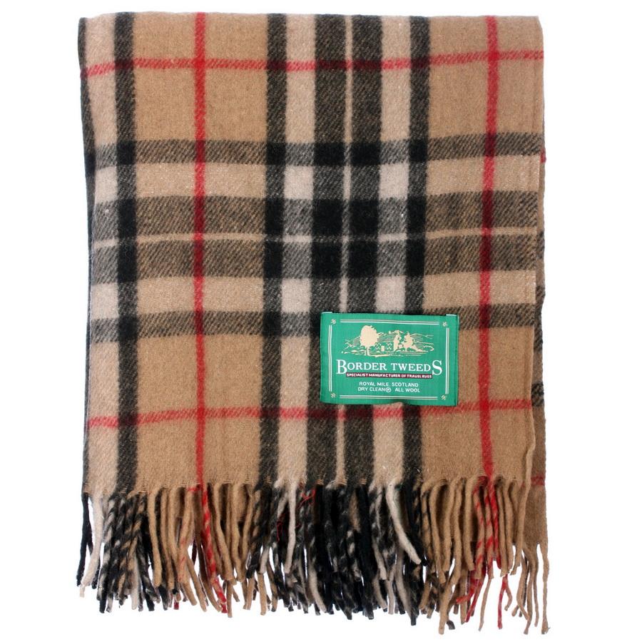 New-BNWT-Scottish-Throw-Large-Wool-Tartan-Rug-Range-of-Tartans-Colours thumbnail 15