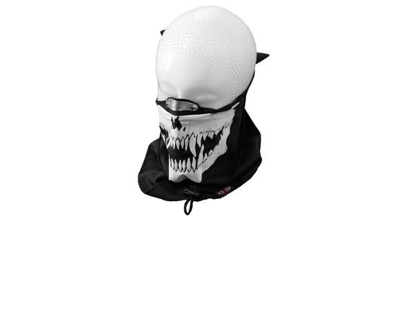 tour de cou cagoule cache cou coton skull t te de mort. Black Bedroom Furniture Sets. Home Design Ideas