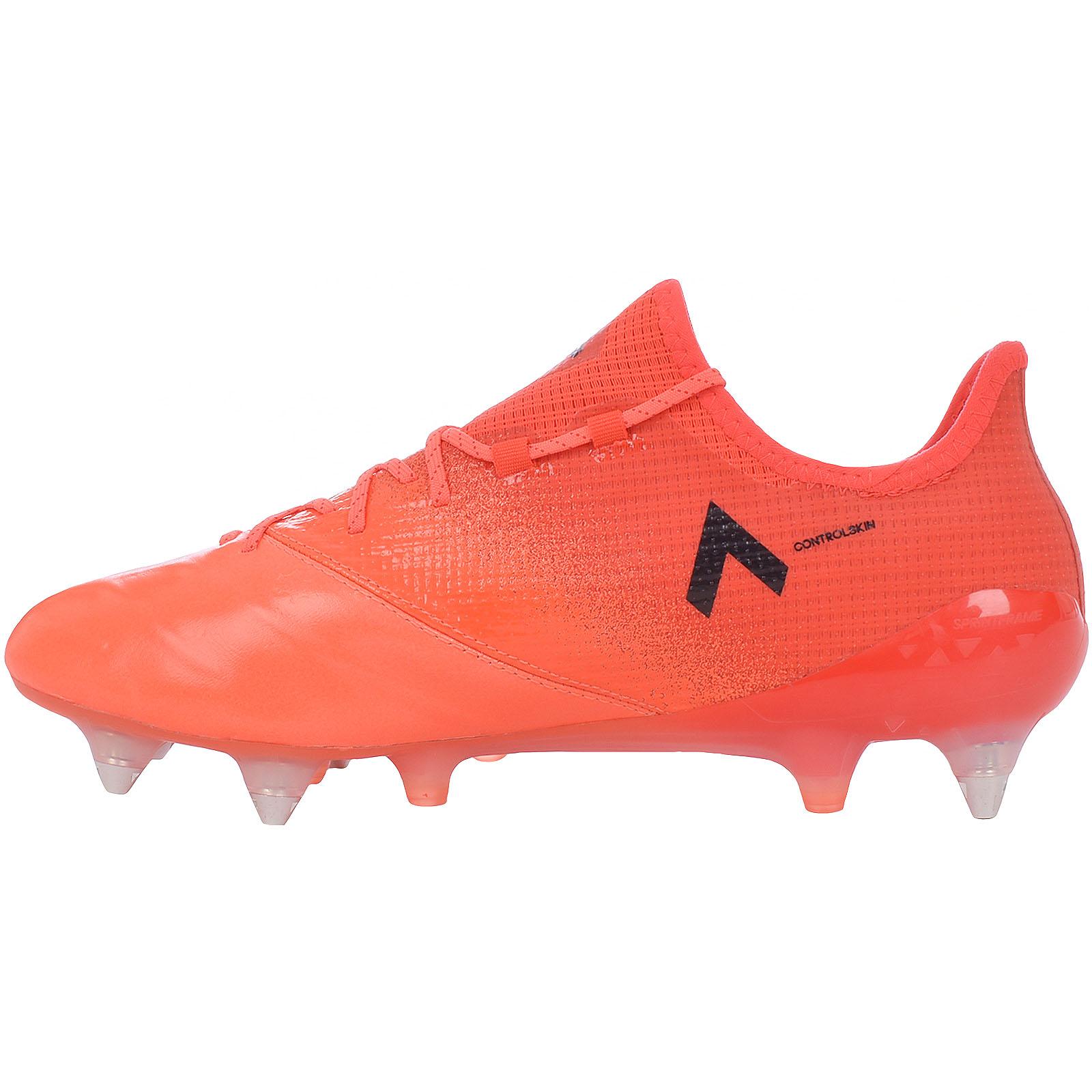Dettagli su ADIDAS Performance DA UOMO ACE 17.1 in pelle Terreno Morbido Scarpe da calcio Arancione mostra il titolo originale