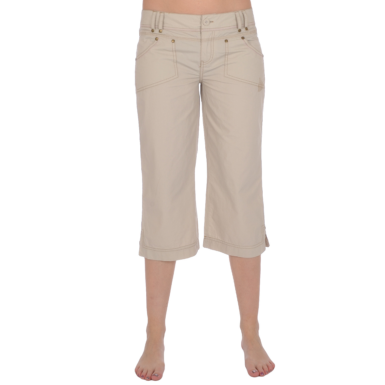 Product Features woven with care, these sleek capri pants will breathe fresh life into.