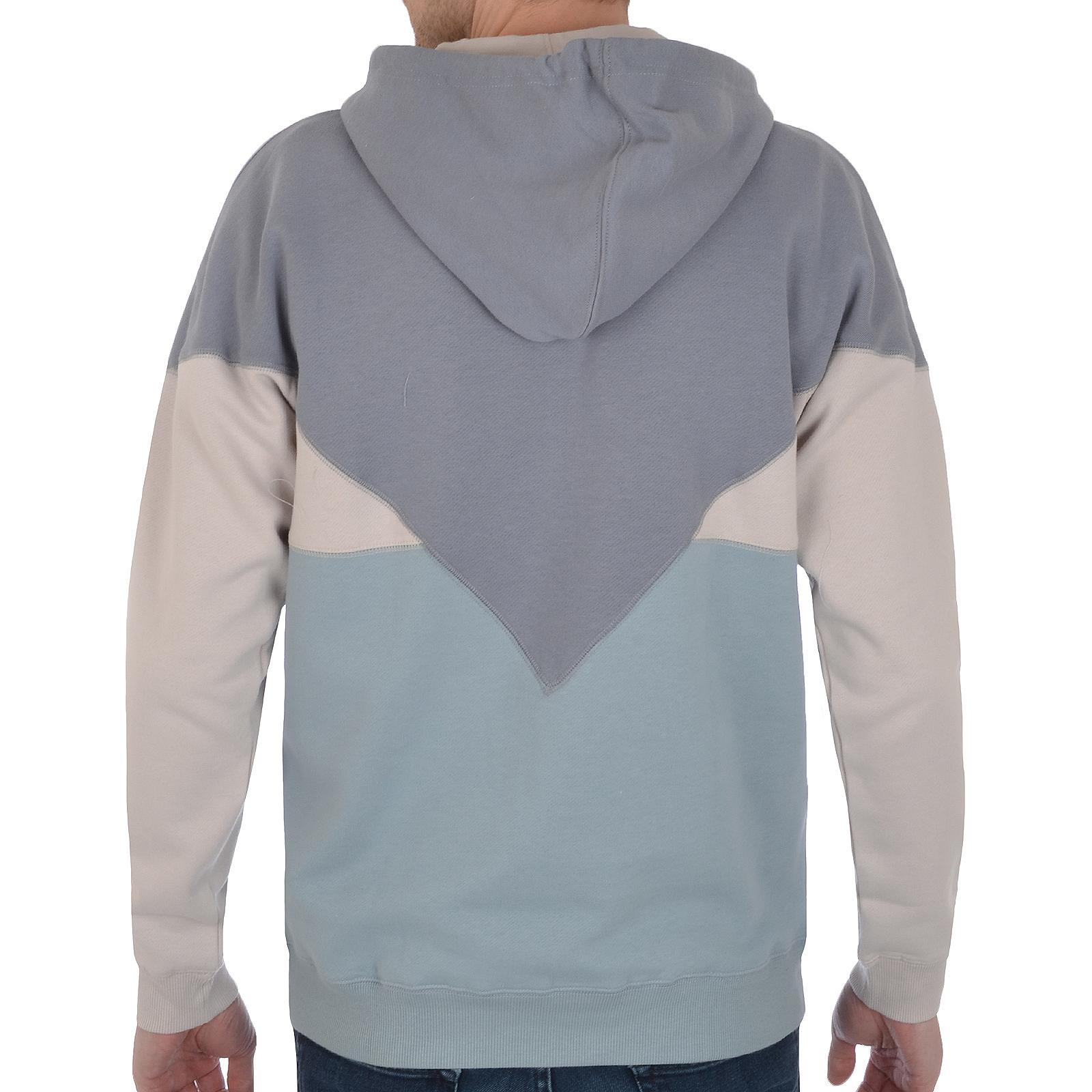 adidas Originals Mens Colorado Half Zip Hooded Hoodie Jumper ...