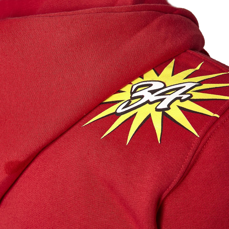 Sudadera con Capucha para Hombre Color Rojo Kevin Schwantz MotoGP Legend 34