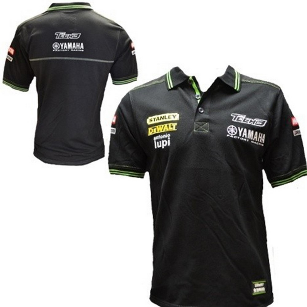 polo shirt hemd bikes motorrad motogp tech 3 yamaha racing team 2013 neu de ebay. Black Bedroom Furniture Sets. Home Design Ideas