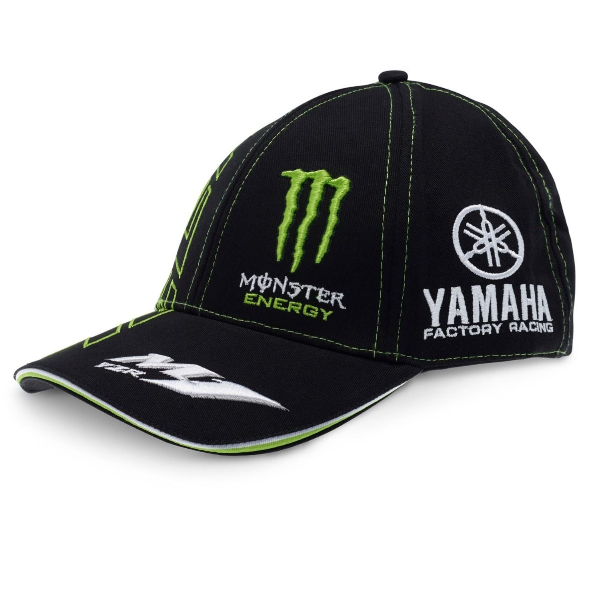 Details about CAP Hat Curved Peak Monster Energy Bike MotoGP Superbike  Yamaha Tech3 Black US b71f47c61c01