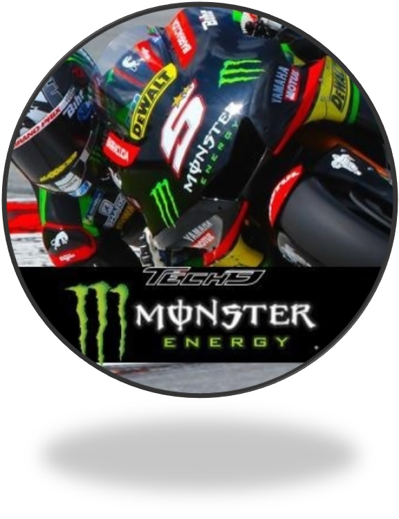 CAP Flat Peak Monster Energy Green Mesh Bike MotoGP Superbike Yamaha ... bd2f1d104a57