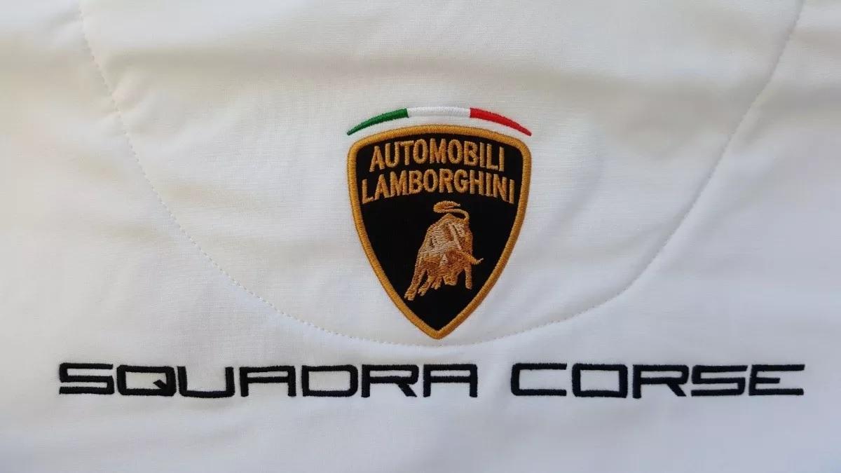 Jacket And Gilet Lamborghini Windbreaker Mens Squadra Corsa Hooded
