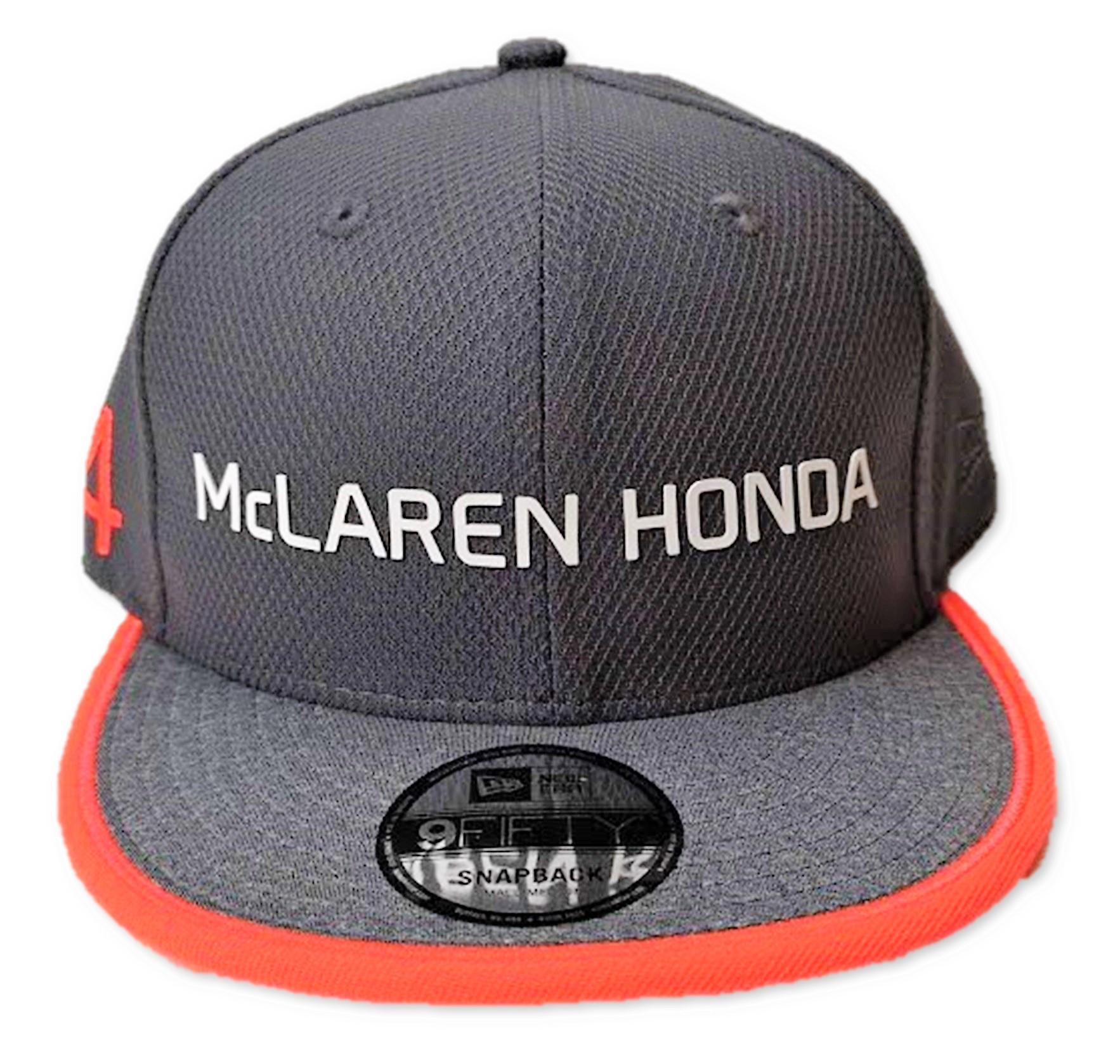 Nuestro precio con envío GRATUITO a España  €23.99. DESCRIPCIÓN DEL  ARTÍCULO. Fernando Alonso 2017 McLaren Snapback gorra ... 91b808059da