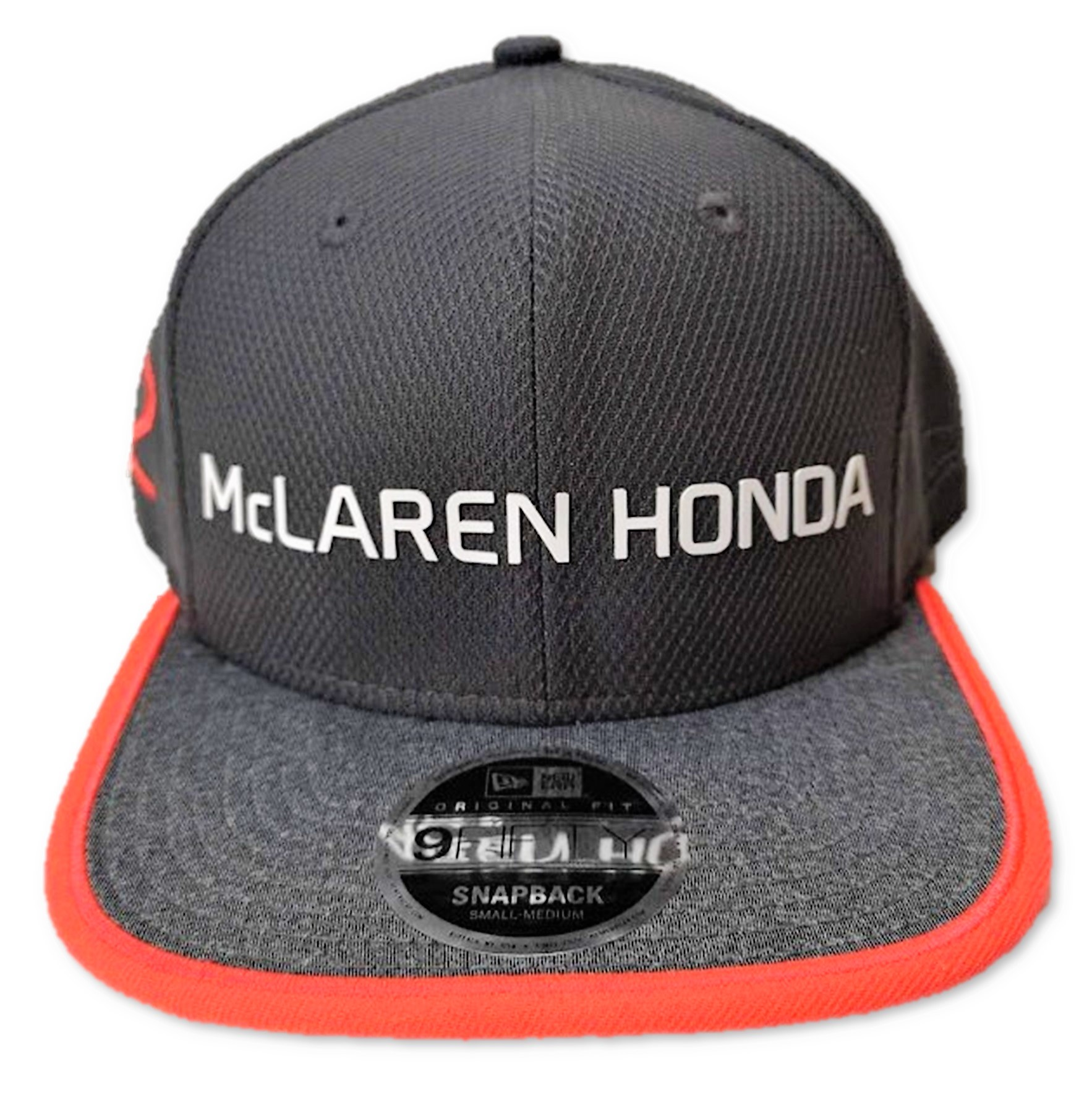 Cap Hat Formula One 1 McLaren Honda F1 Team Jenson Button Flat Peak Blue US