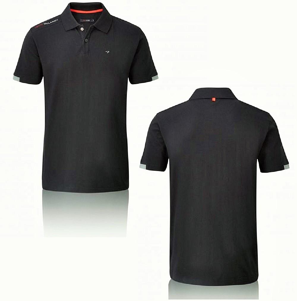 polo shirt formula one 1 team mclaren f1 black 2014 signature small
