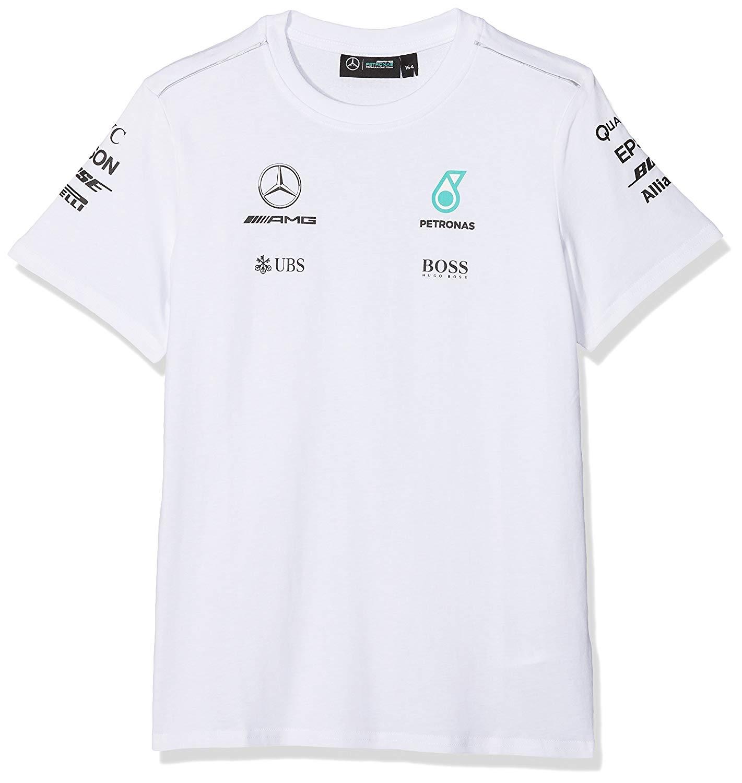 Cooperativa T-shirt Tee Kids Formula One 1 Mercedes Amg Petronas F1 Figlio Driver Nuovo!-mostra Il Titolo Originale
