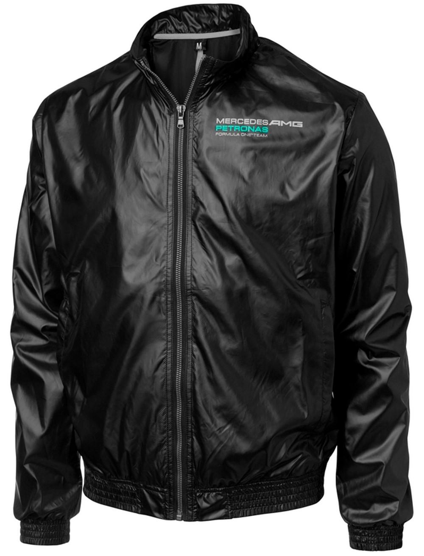 jacket lightweight bomber formula one 1 mercedes amg. Black Bedroom Furniture Sets. Home Design Ideas
