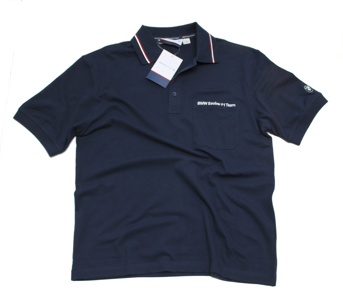 polo shirt formula one 1 bmw sauber f1 new m us ebay. Black Bedroom Furniture Sets. Home Design Ideas