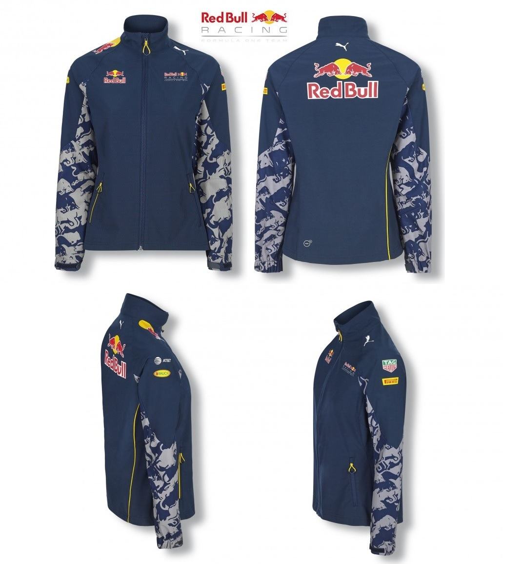 073763485b753 Details about Jacket Soft Shell Red Bull Racing Formula One Team womens  Ladies PUMA F1 US