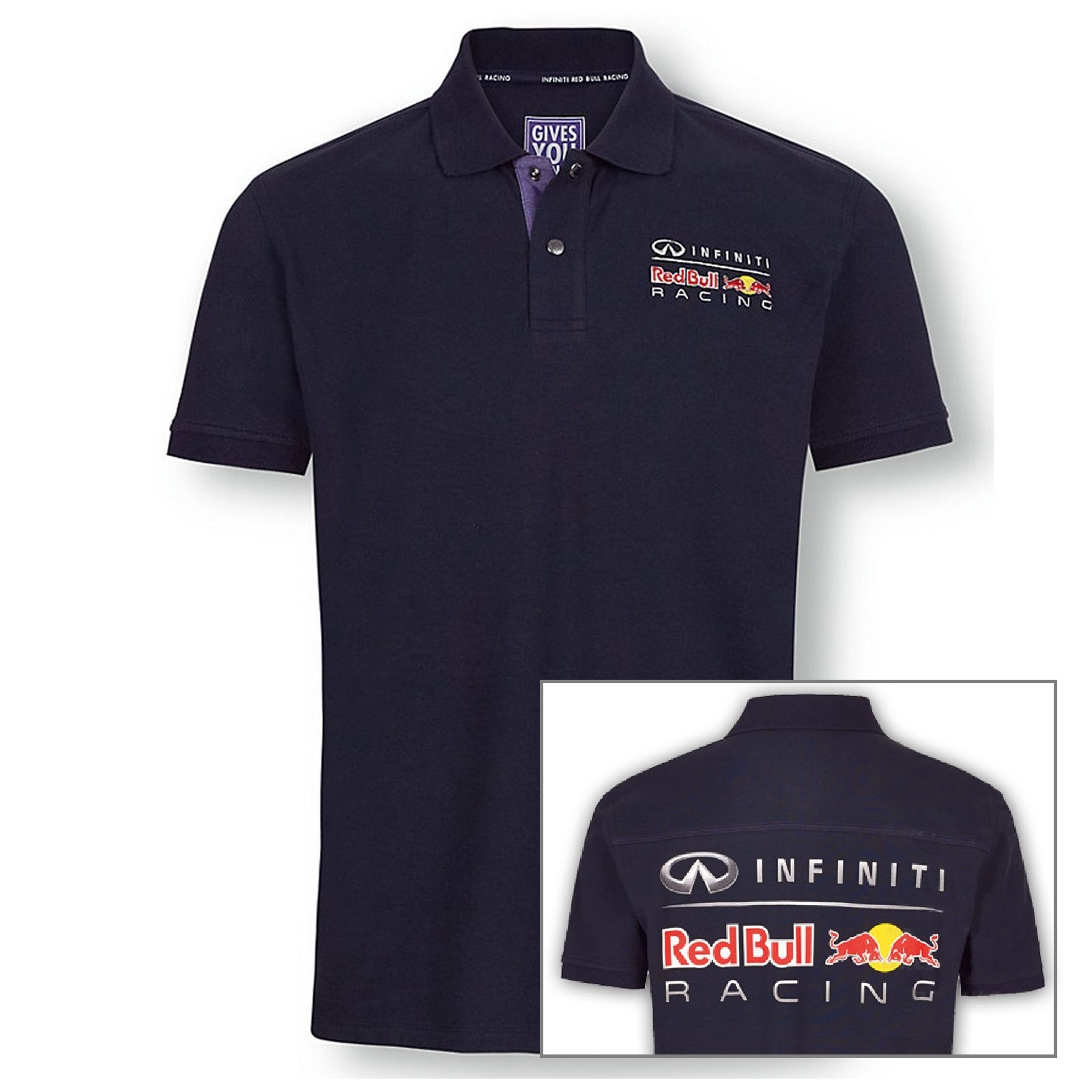 polo infiniti red bull racing poloshirt formula one 1 f1 pepe jeans new ebay. Black Bedroom Furniture Sets. Home Design Ideas