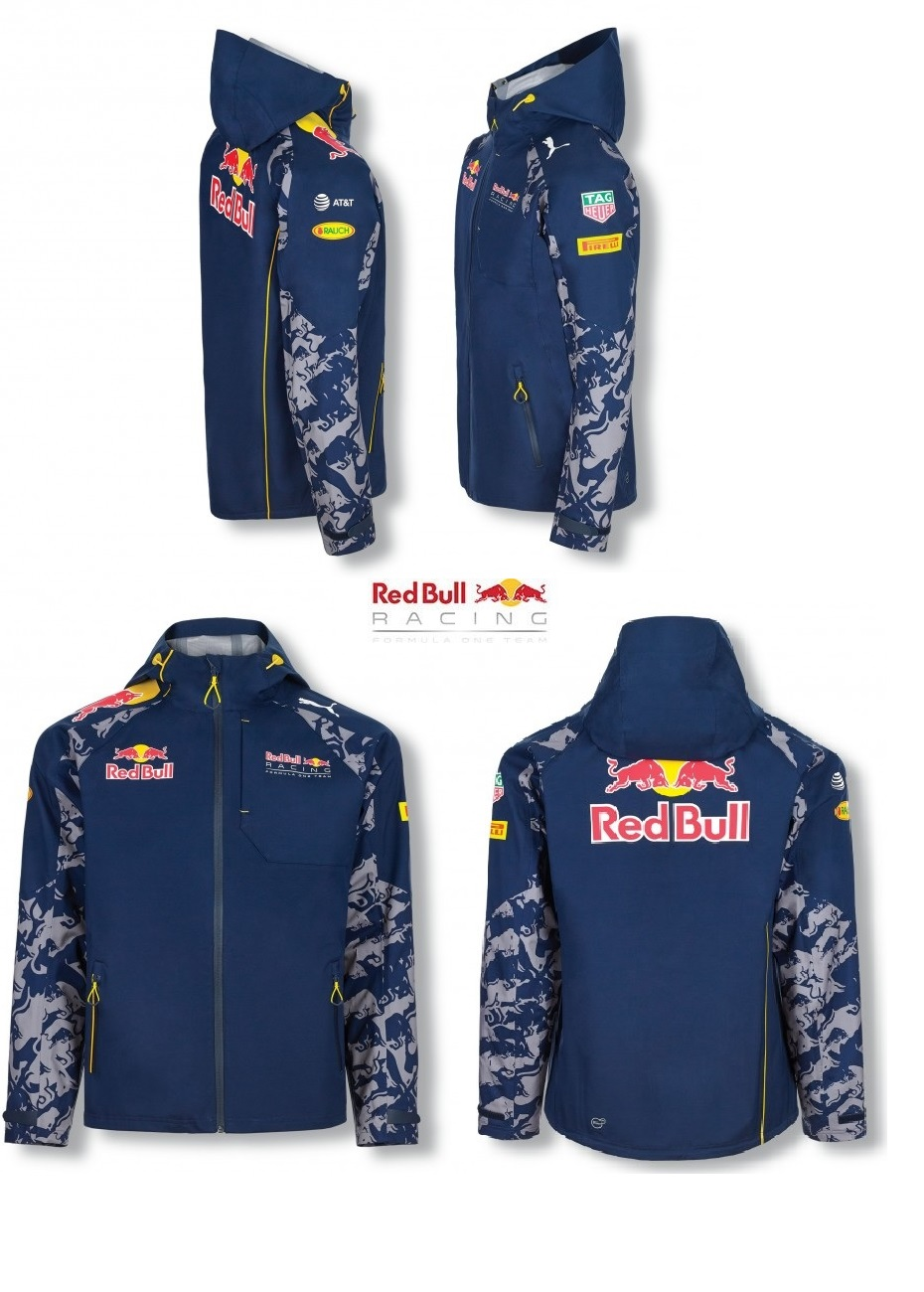 JACKET Rain Coat Red Bull Racing Formula One Team Mens Raincoat PUMA ... 3c4949a2e21cd