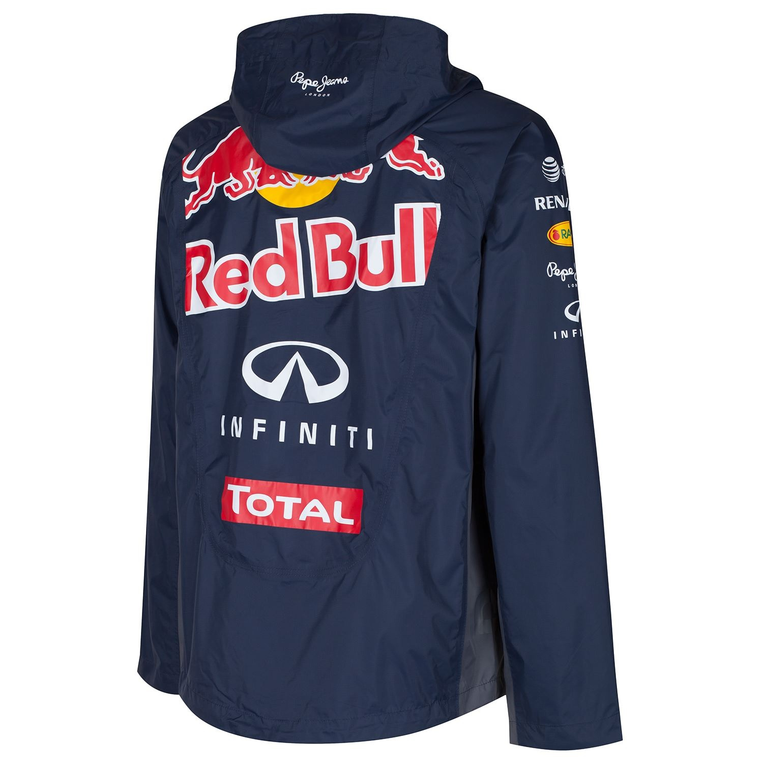 jacket rain jacke infiniti red bull racing teamline. Black Bedroom Furniture Sets. Home Design Ideas