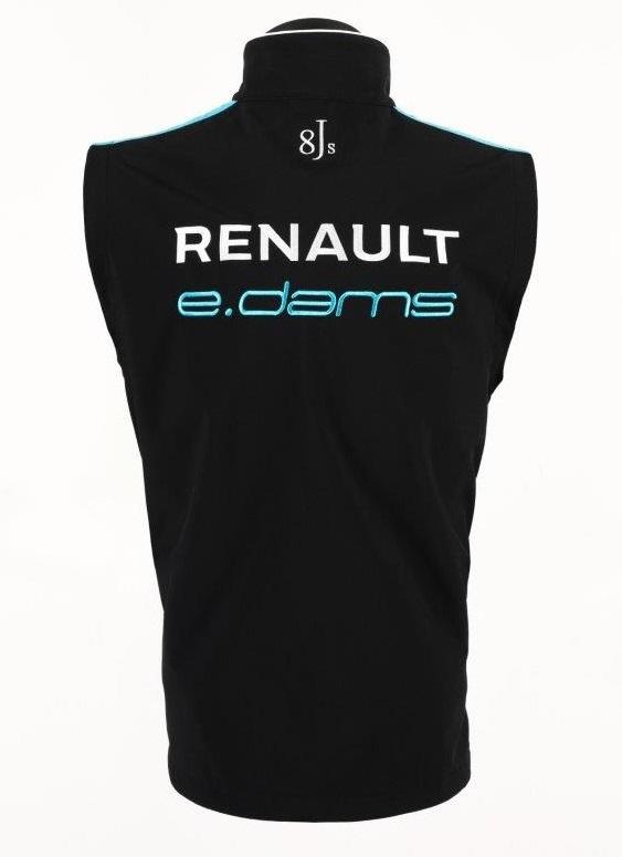 Gilet-Bodywarmer-Vest-Formula-E-Renault-1-E-DAMS-Sponsor-Buemi-Prost-CH Indexbild 6