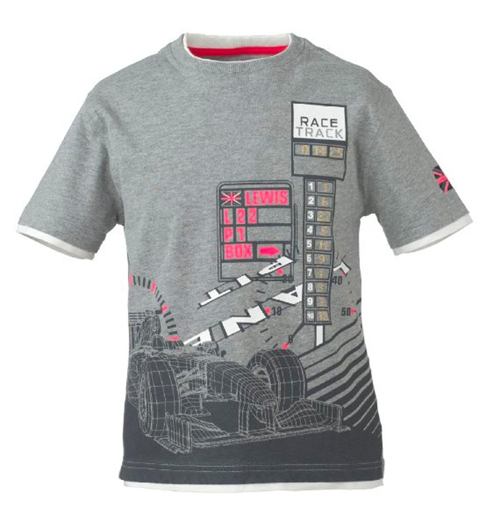 t shirt formula 1 f1 mclaren mercedes kids new pit ebay. Black Bedroom Furniture Sets. Home Design Ideas