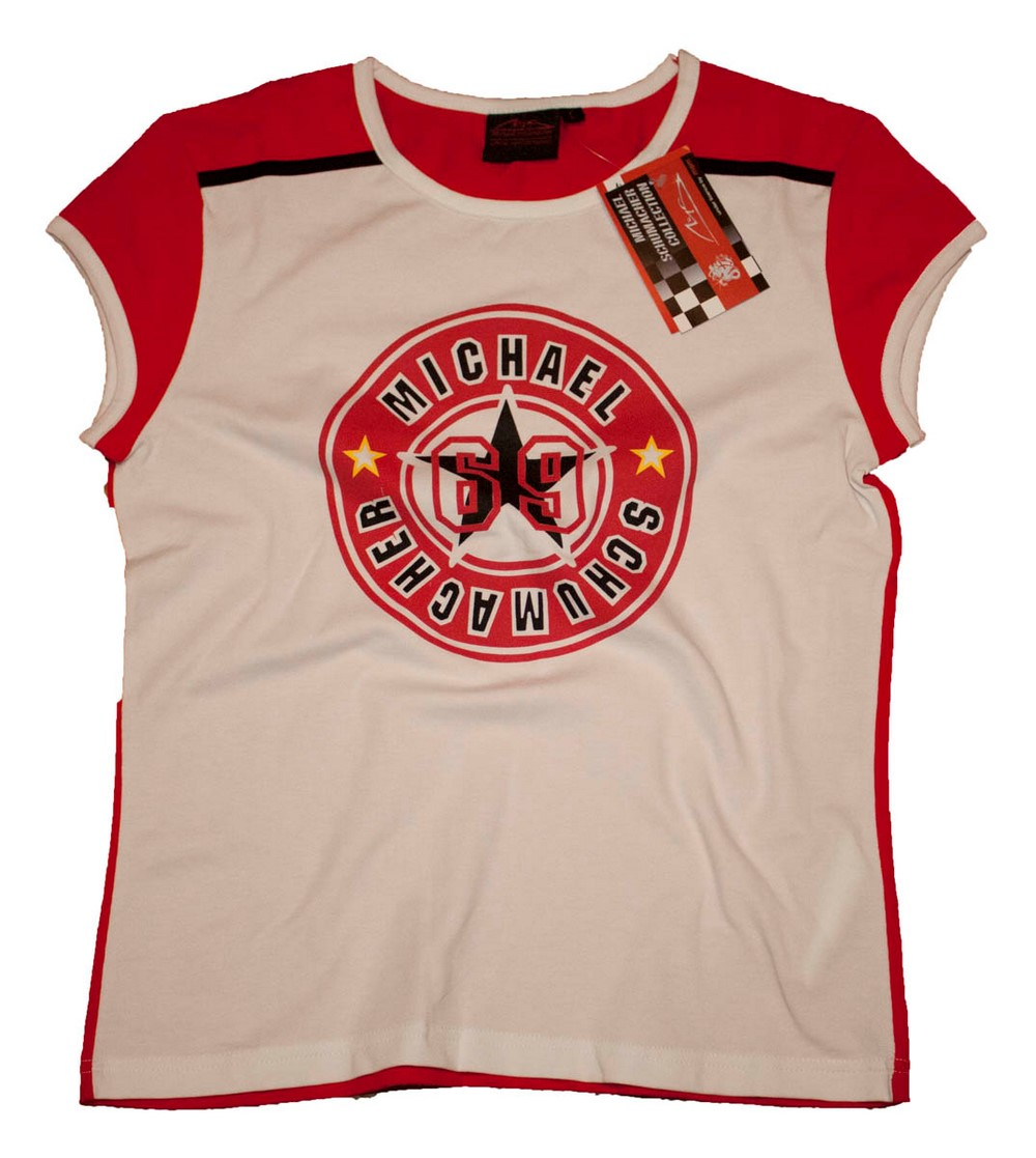 T-shirt e maglie Bambini 2 - 16 anni Tshirt FORMULA 1 F1 Michael Schumacher New Kids Maniche Lunghe