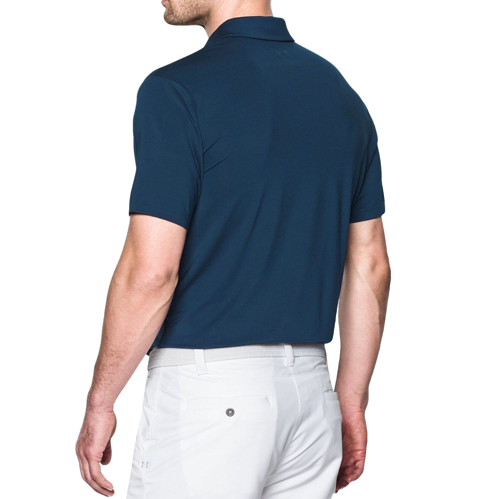 Under Armour Ua Mens Golf Playoff Short Sleeve Loose Fit Polo Shirt