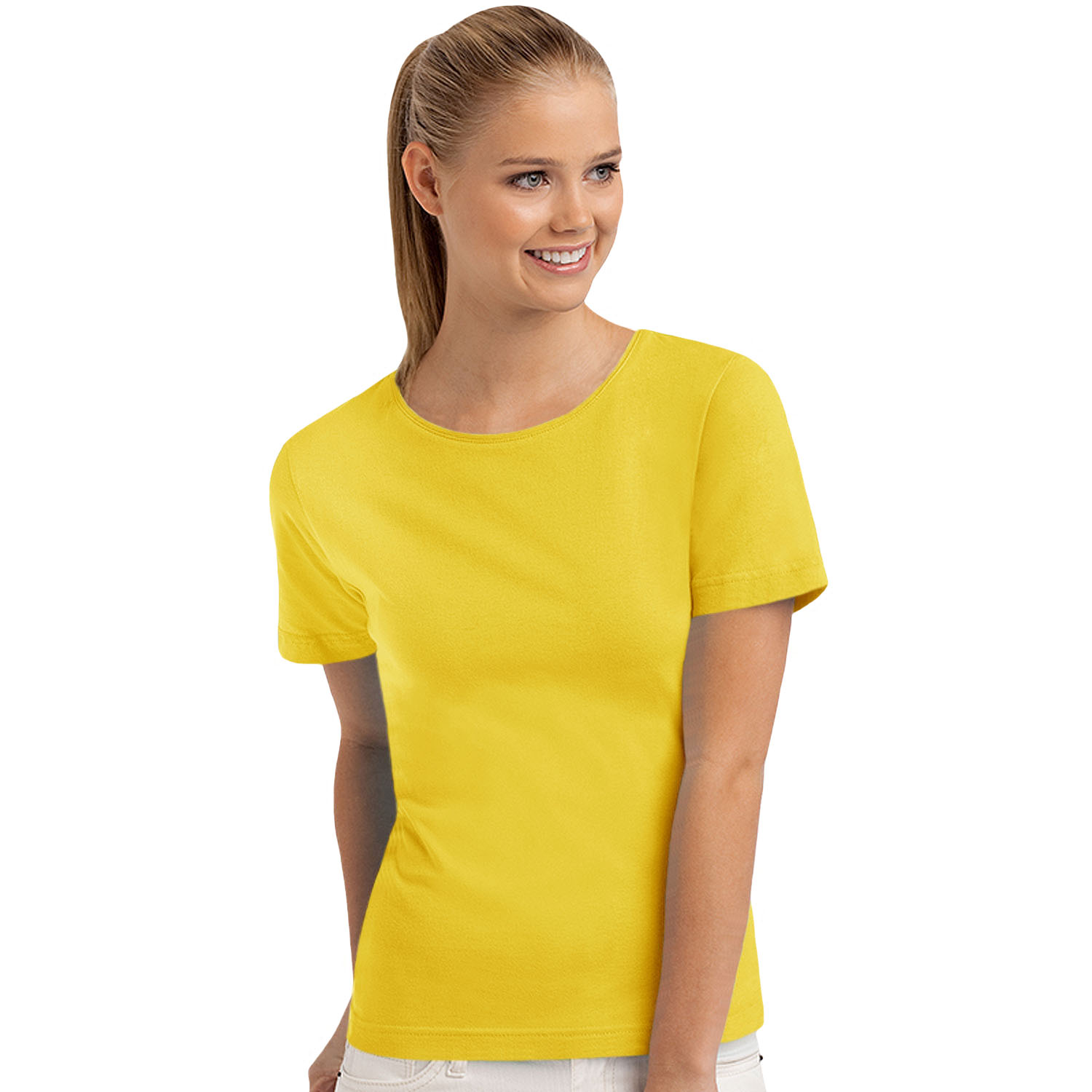 Yellow T Shirts Womens e28052770d8f