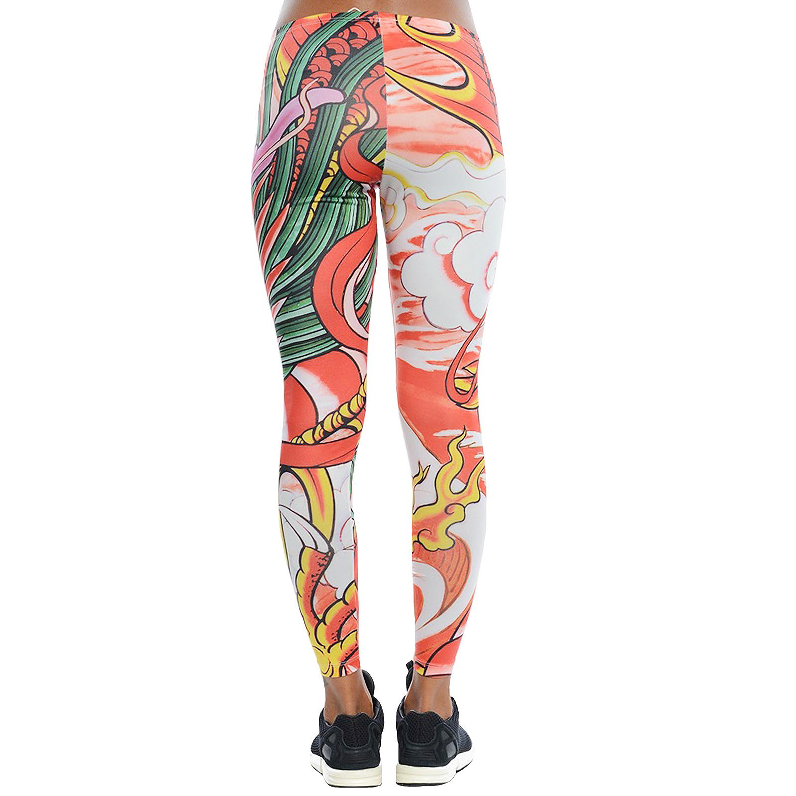 Adidas originali donne rita o drago impronta forte leggings pantaloni