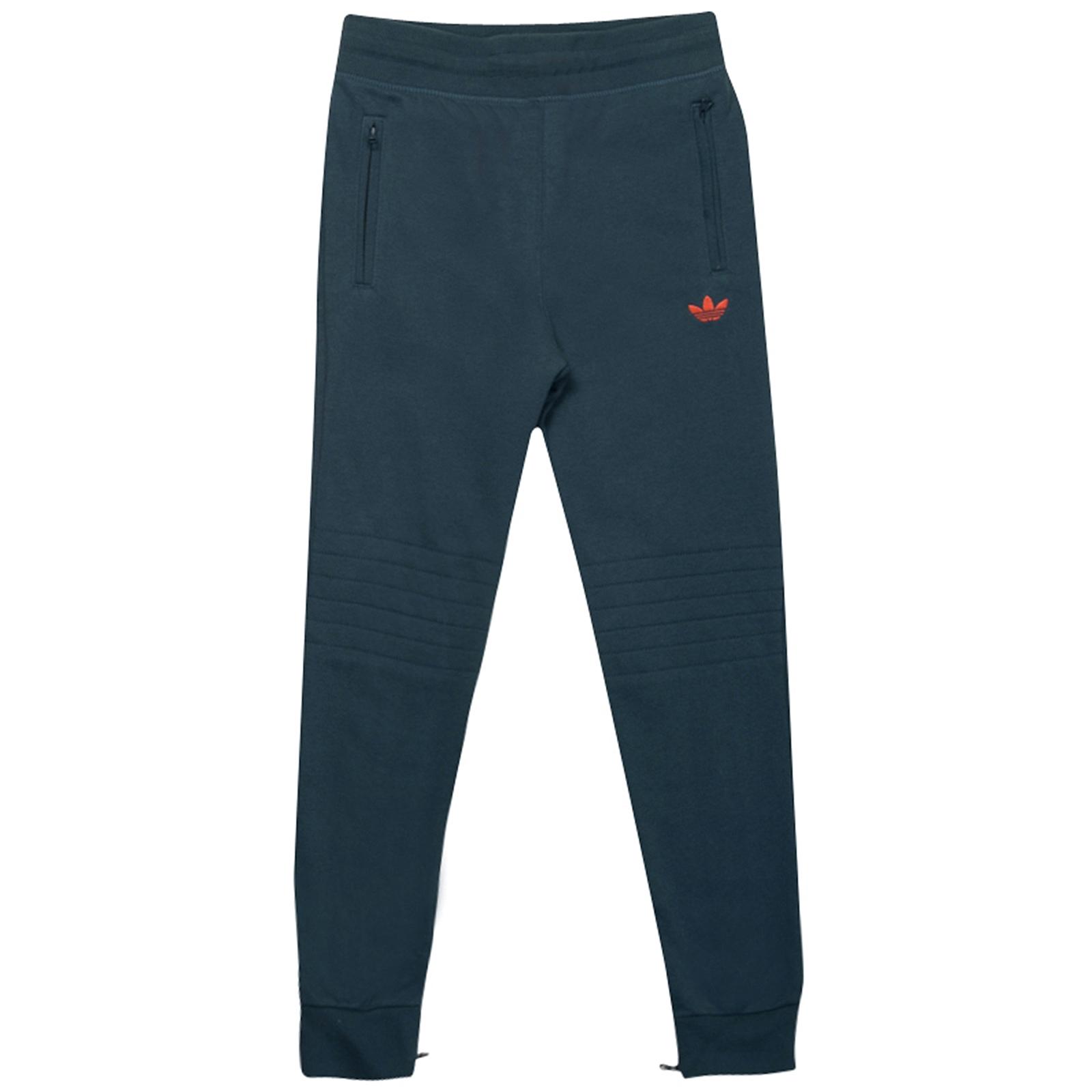 adidas-Originals-Boys-Junior-Fleece-Tracksuit-Track-Pants-Bottoms-B-Grade