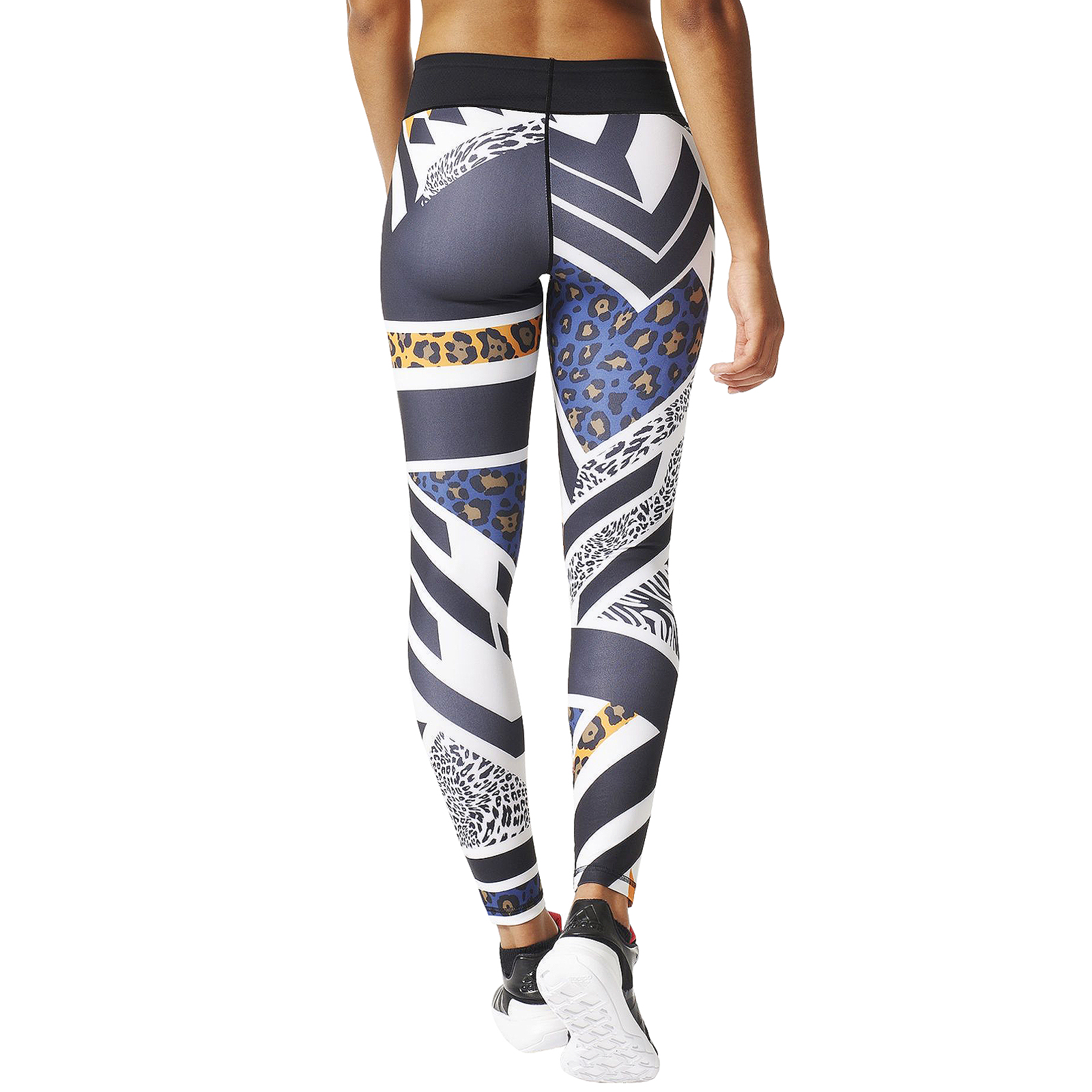 adidas performance womens ultimate fit africa running training leggings tight. Black Bedroom Furniture Sets. Home Design Ideas